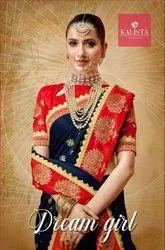 Kalista Dream Girl Designer Fancy Saree