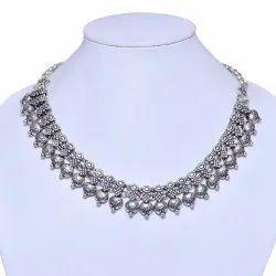 Designer Oxidized Necklace