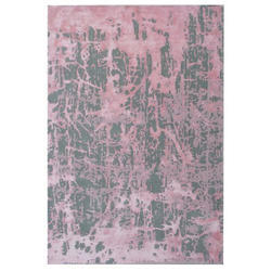 Multicolor Printed Polyester Hand Tufted Carpet