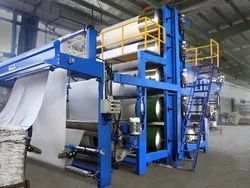 Three Bowl Padding Mangle Cylinder Drying Range Machine