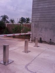 Automatic Rising Pneumatic Bollards