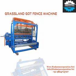 Automatic Grassland Chain Link Wire Mesh Fencing Machine