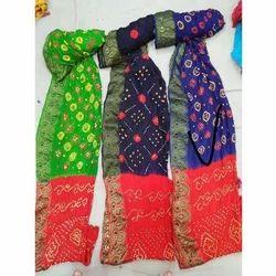 94355e29bd412 Ladies Designer Bandhani Saree