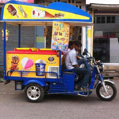 Electric Ice Cream Cart At Rs 140000 Piece Electric
