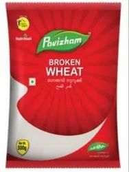 White Broken Wheat, Packaging Size: 500 Gm, High in Protein