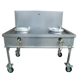 Ss Silver Kwali Range Two Burner, For Kitchen