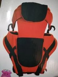 Red Black Blue Green Soft Fabric Baby Carrier Bags, Yes, Age Group: 3-12 Months