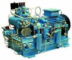 Reciprocating AC Single Phase ELGi Custom Built Piston Compressors