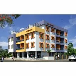 Concrete Frame Structures Commercial Projects Residential Building Construction Service, Pan India