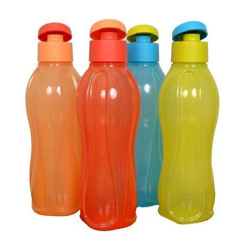 Plastic Plain Fridge Water Bottle Capacity 1 Litre