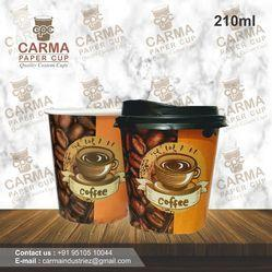210 ML Paper Coffee Cup
