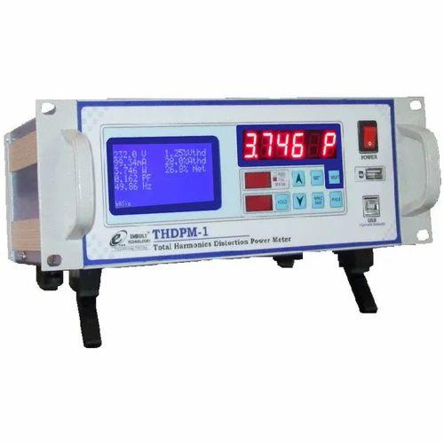 Single Phase Total Harmonic  Distortion Power Meter Analyzers