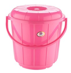 Plastic Handle Bathroom Bucket 9 Ltr