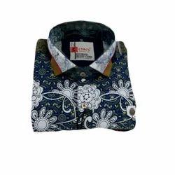 Cotton M And XXL Party Wear Designer Shirt