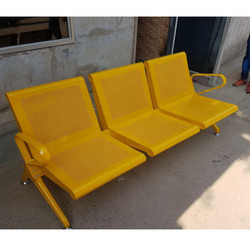 Color Coated Waiting Chair