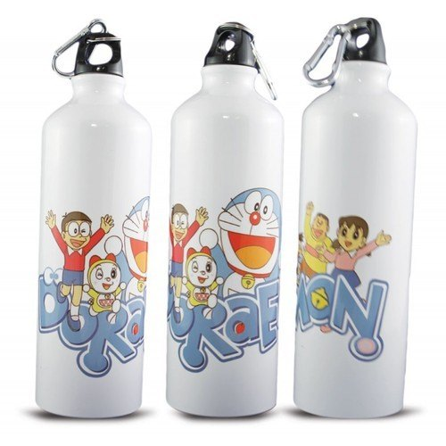 White Printed Custom Personalized Water