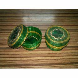 Bamboo Green Round Gift Box
