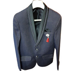 Kids World Baby Boys Velvet Blazer