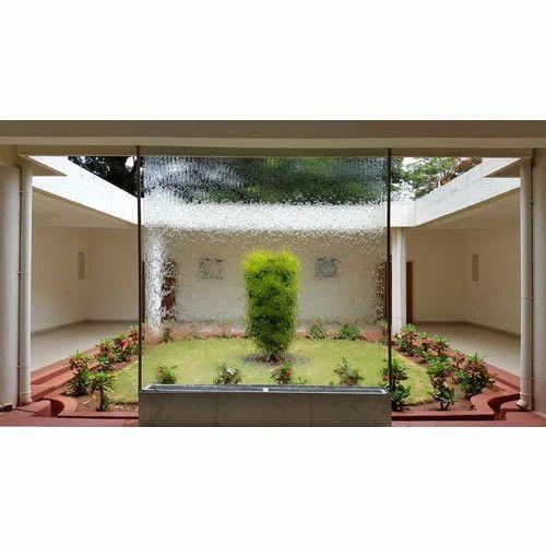 Glass Water Indoor Fountain