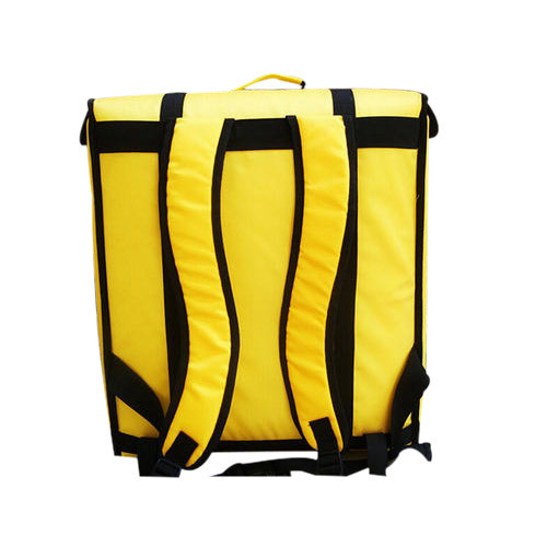 48c9e7542f2e Black And Yellow Pizza Delivery Bag