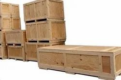 Moisture Proof Rectangle Wooden Packing Box, Box Capacity: 1-200 Kg, 5-15 mm