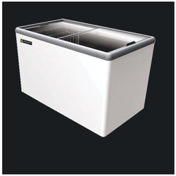 EKG 405A Glass Top Chest Freezer