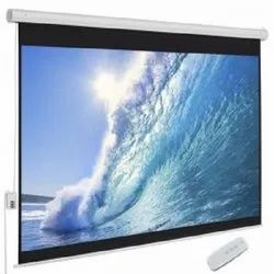 Wall Mount Manual Projector Screen, For Office, Standard