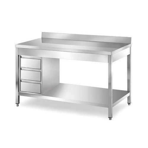 Ss Work Table With Drawer
