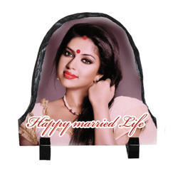 Sublimation Rock Photo Frame (VSH - 02)