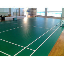 PVC Synthetic Badminton Courts