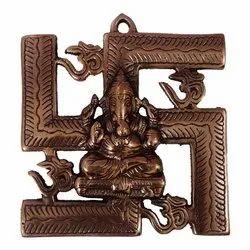 Swastik Ganesha Statue