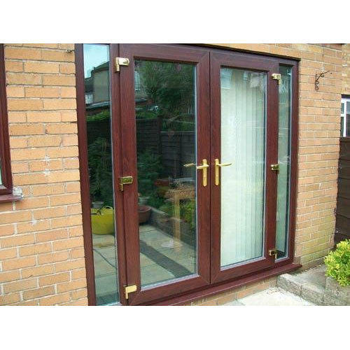 Upvc French Door Size 8 4 Feet Rs 450 Square Feet Maruti