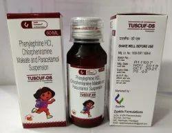 Paracetamol Phenylephrine Hydrochloride Chlorpheniramine Maleate Suspension 60ml