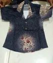 Cotton Printed Kids Shirt, Packaging Type: Poly Bag