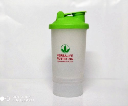 Customizable Shaker Bottle, Capacity: 600 Ml