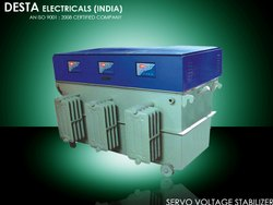 Oil Cooled Three Phase Servo Voltage Stabilizer