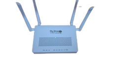 Wireless or Wi-Fi Sky Blue Dual Band Ont Netlink Router, For Networking, 2.5 Ghz & 5 Ghz