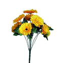 9 Stick Yellow Flower Bunch