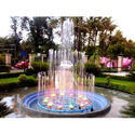 Multicolor Three Stage Lighting Water Fountain