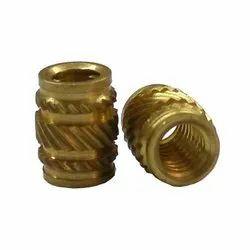 Threaded Brass Insert, Packaging Type: Box