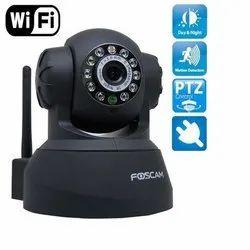 Foscam 2 MP Wireless PTZ CCTV Camera, For Indoor Use, 12 V