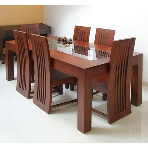6 Seater Wooden Dining Table Rs 20000 Set Decor Design Unit Of Inayah International Id 19963084788
