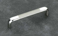 Oval - D Steel Cabinet Handle