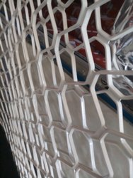 Silver Aluminium Window Grill, Size: 6 X 4 Feet