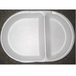2 Compartment Thermocol Plate