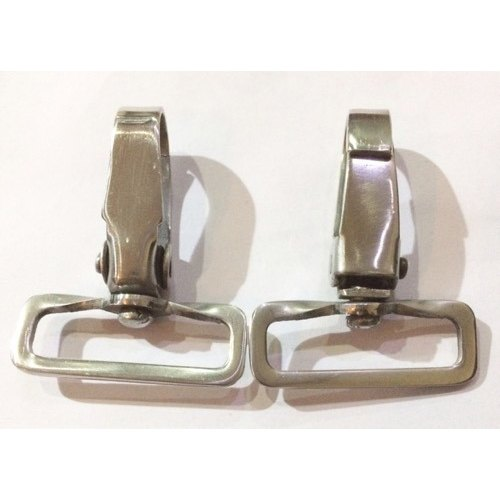 Ss Silver Stainless Steel Snap Hook, Chrome