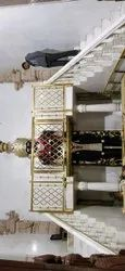 Balcony temple Brass Railing, For Home