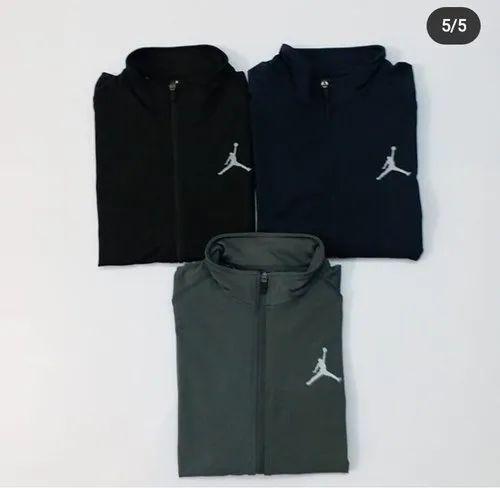 Polyester Men Air Jordan winter jacket