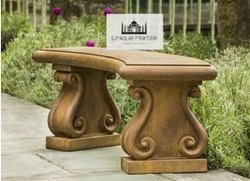 Brown Sandstone Bench