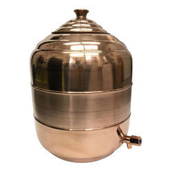 Copper Water Tank Dispenser Pot
